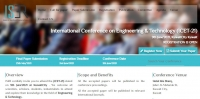 International Conference on Engineering & Technology