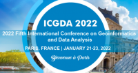 2022 5th International Conference on Geoinformatics and Data Analysis (ICGDA 2022)