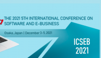 2021 The 5th International Conference on Software and e-Business (ICSEB 2021)
