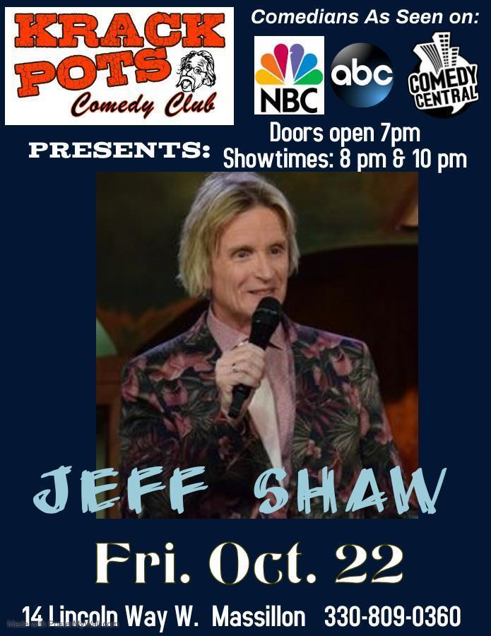 Comedian Jeff Shaw, Massillon, Ohio, United States