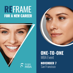 One-to-one MBA event in San Francisco