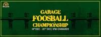 Garage Foosball Championship